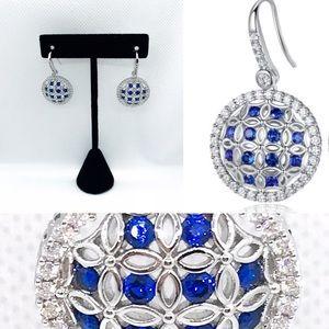 Jewelry - Sapphire Filigree earrings